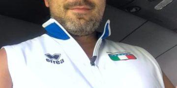 Alessandro Pagani, massaggiatore tesserato della Federazione Ciclistica Italiana